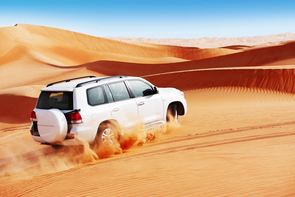 Desert Driving Dubai